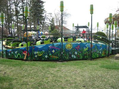 Canobie Lake Park, May 3, 2014