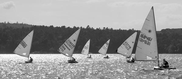 August Laser Sailing