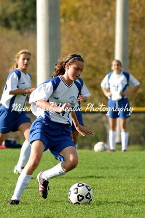 Lampeter-Strasburg Girl's JHV Soccer v. PM 10.19.12
