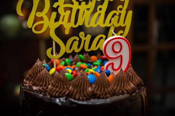 Sarah Grace Turns 9