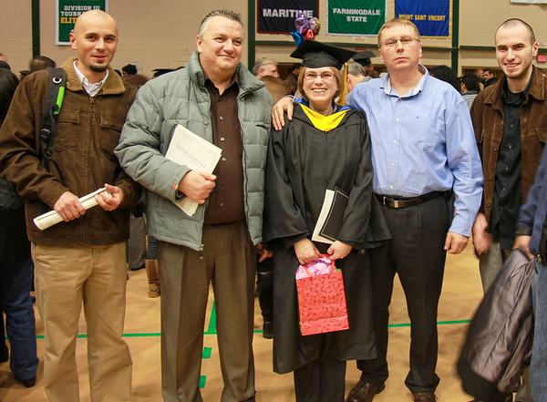 Mihaela's graduation with Magna Cum Laude - December 22, 2010