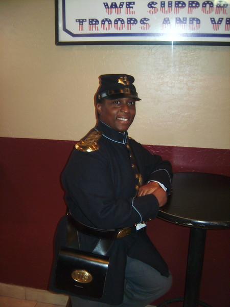 "ARIZONA BUFFALO SOLDIERS, MESA, AZ... R.H. Hamilton American Legion, Post 65., Phx, AZ, ""Black History Month - Bill Pickett Rodeo Dinner"". Special Guests:Buffalo Soldiers of the AZ Territory. Feb. 18, 2010"