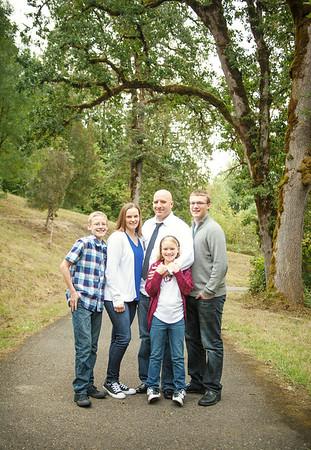Hymas Family 2017