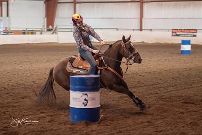 Fairgrounds Showdown Barrel Racing