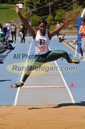 Women's and Men's Long Jump - 2012 Gina Relays