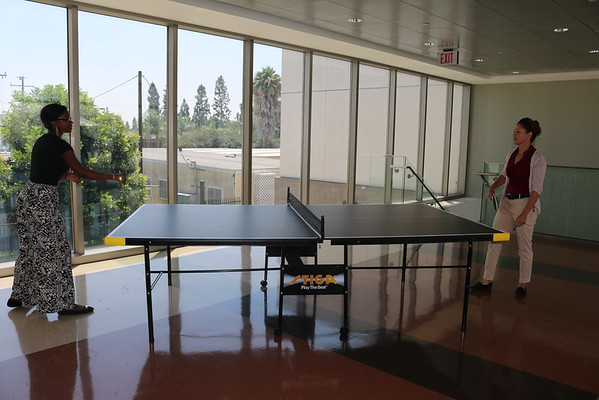 Beat the Provost in Ping Pong 7-24-2015