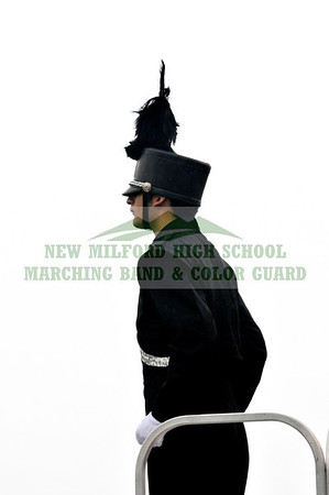 NEW MILFORD HIGH SCHOOL MARCHING BAND at Danbury, October 31, 2009