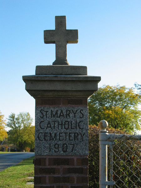 St. Mary's Catholic Cemetery 1907
