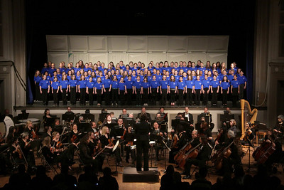 Plymouth Children's Chorus with Plymouth Phiharmonic