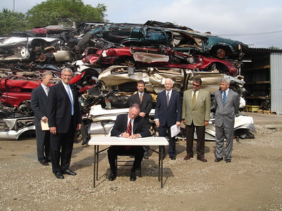 US EPA Mercury Switch Program - Signing Ceremony