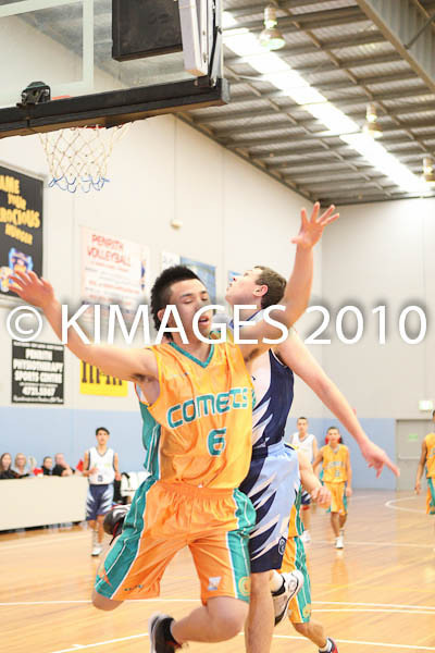 U/18 M2 Bankstown Vs Comets 1-8-10
