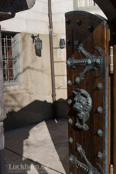 a Gate on Beacon Street