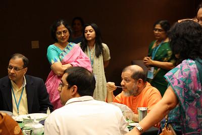 CMDFW Family Camp 2009 = Pujya Guruji's Bhiksha