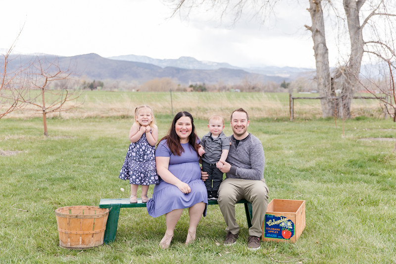 Sill Family at the Orchard