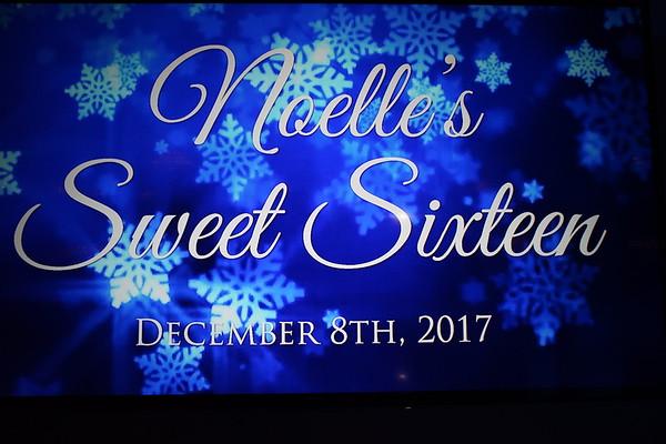 Snowflake-themed Sweet 16