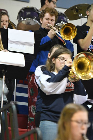 Band - Plattsmouth Basketball game