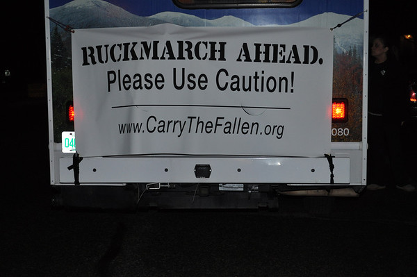 Carry the Fallen Ruck March 2/29/14