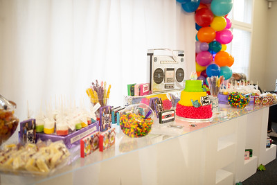 Janell's 80's-Themed 40th