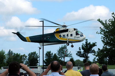 2013 Sikorsky S-61 Helicopter at LORD Corp.