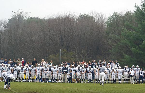Millis Varsity Football vs. Medway Varsity High School Football, Thanksgiving Day