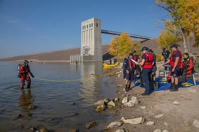 South Metro & Denver Fire Dive Training at CCSP
