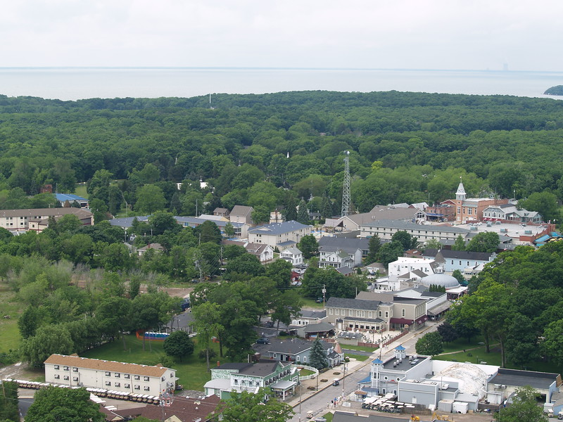 Put-in-Bay on South Bass Island from the Monument deck (2008).