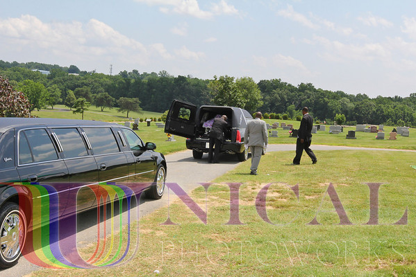 The Burial at National Harmony Memorial Park, Largo, MD