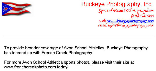 More Avon Sports Photos...