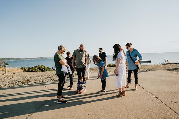 Tiffany Family, Richmond Beach Park August 2020