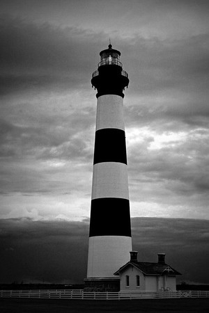 Black and White Lighthouses