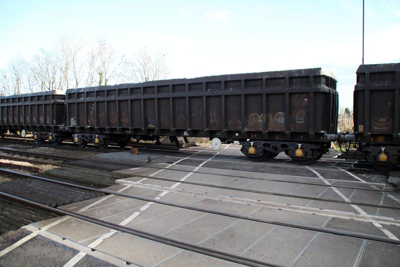 JNA 9817 seen at Hillam Gates 27/12/13.