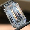 3.04ct Emerald Cut Diamond, GIA F VS1 0