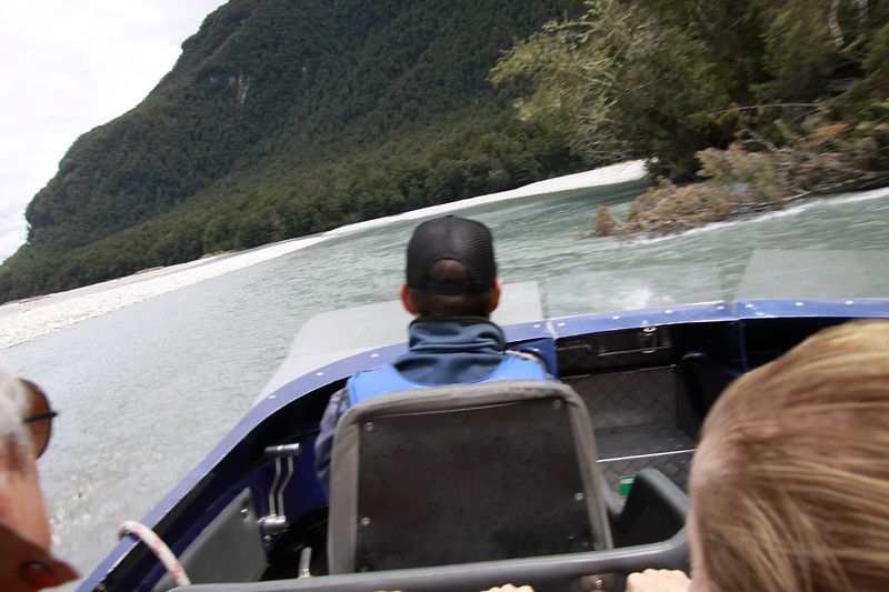 Shot from jet boat at 60MPH