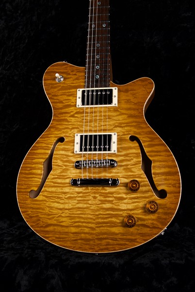 25th Anniversary DG-293 #ST - 0232, Brazilian Rosewood Fingerboard, Vintage Maple Burst, Grosh H/H Pickups