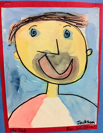 Portrait of Dad by Jackson