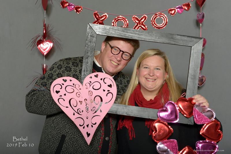 Bethel Lutheran Church Valentines Dinner, 2019 February 10.