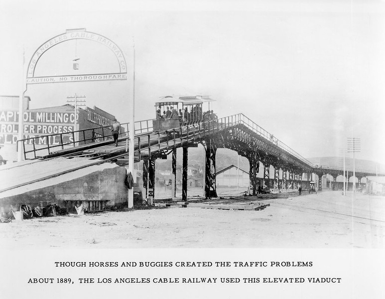 1889, South End of the Cable Railroad Viaduct