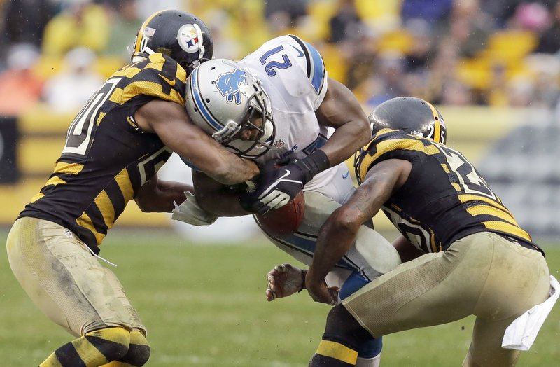 . <p><b> Buccaneers at Lions (-9):</b> <p>Detroit�s Reggie Bush cried foul after coach Jim Schwartz cut back on his carries Sunday because of muddy conditions in Pittsburgh. That�s surprising because, as longtime Bush watchers know, he had dealt with much slimier conditions during his days sleeping with Kim Kardashian. <p>Pick: <b>Lions by 7</b> <p>   <p><b>BYES</b><p> <p><b> Bills, Bengals, Eagles, Seahawks </b>   <br> <br><p><b>RECORD</b> <p><b>Week 11:</b> Straight up 10-5, vs. spread 6-7-2 <p><b>Total:</b> Straight up 105-57, vs. spread 72-84-6   <br><p> <i>Kevin Cusick talks fantasy football, and whatever else comes up, with Bob Sansevere and �The Superstar� Mike Morris on Thursdays on Sports Radio 105 The Ticket. Follow him at <a href=\'http://twitter.com/theloopnow\'>twitter.com/theloopnow</a>.</i>    (AP Photo/Gene J. Puskar)