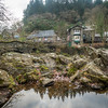 River Rock Reflection, Betws-y-Coed, Wales