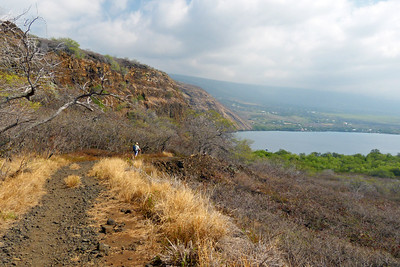 Hiking to Captain Cook Monument and Kealakekua Bay January 2013, Cynthia Meyer, Hawaii