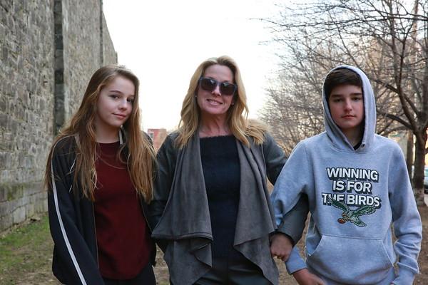 Sue, Ava and Evan