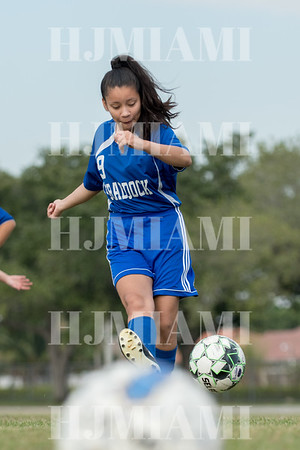 Braddock JV Girls Soccer  12-5-18