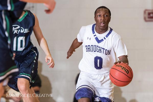 Broughton boys varsity basketball vs. Leesville. January 8, 2019. 750_1750