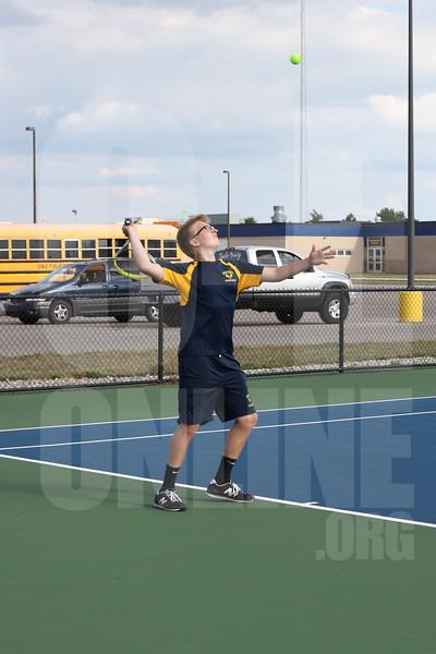 Boys Tennis vs. Ionia 8-30-17