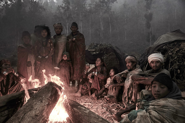 The Last Hunter and Gatherers of the Himalayas (colours)