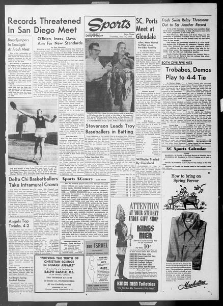 Daily Trojan, Vol. 44, No. 103, March 26, 1953