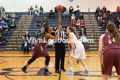 Girls Basketball: Broad Run vs. Stone Bridge 1.30.15 (by Chas Sumser)