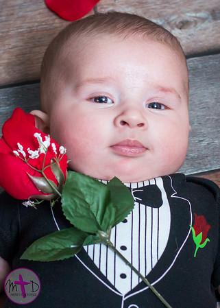 Beau ~ 3 Months ~ Valentine's