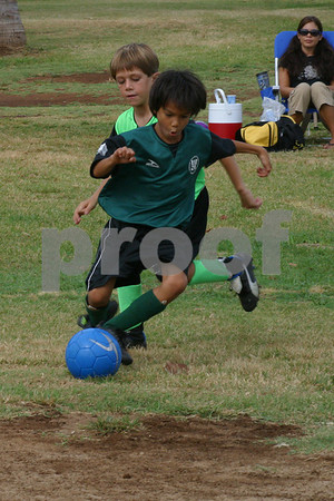 Kihei AYSO Actions 9/15/07