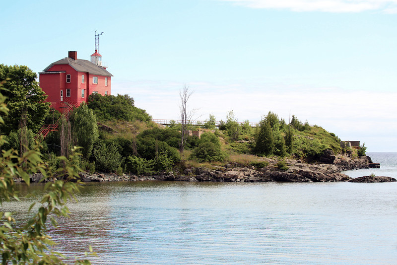 Marquette Lighthouse and context